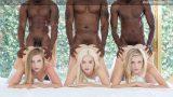 Blacked Preppy Girl Threesome Get Three BBCs – Elsa Jean