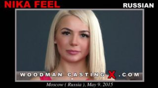 Russian Girl – Nika Feel – Woodman Casting HD