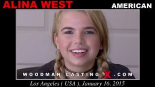 Alina West – Woodman Casting – 720p