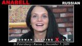 Russian Anal Casting – Anabell – Woodman CastingX