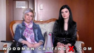Alice Nice with Mom Kathy White – Woodman Casting X