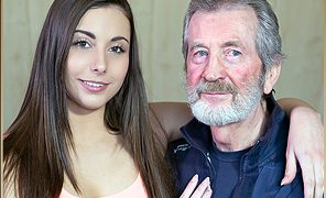 Carla Crouz Firstime sex With Old Man