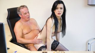 Luize Saint with old man