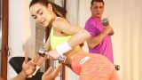 FitnessRooms.com – Sexy Teen's Gym Sex – Stacy Snake