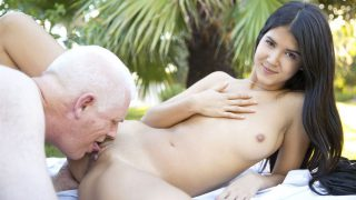 Old man with Lady Dee – The Young Cheating Girlfriend