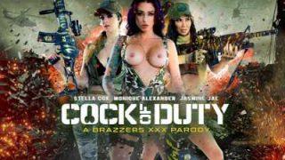 Cock Of Duty A XXX Parody – Brazzers