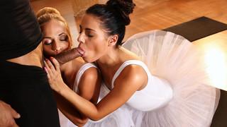 Ballet Teachers Secret Threesome  Cristin Caitlin, Eveline Dellai – FitnessRooms – 25.11.2016