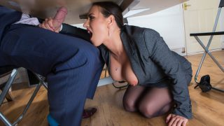 BigTitsAtWork – Mea Melone Under The Table Deal – Brazzers.com –  01.12.2016
