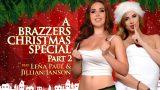 BraZZers – Jillian Janson – Lena Paul – A Brazzers Christmas Special  Part 2
