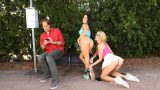 RealityKings – WeLiveTogether – Megan Rain – Blake Eden  – Bus Stop Lust