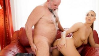 GrandpasFuckTeens – Ornella Morgan – Pleasing Naughty Grandpa