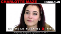 Charlotte Maze WoodmanCastingX