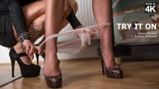 Babes – Alexis Crystal – Simony Diamond – Try It On