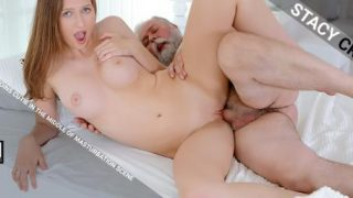 OldGoesYoung – Kinky old man joins cutie in the middle of masturbation scene