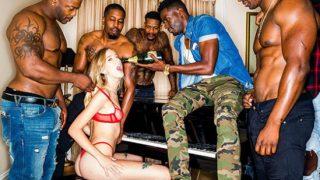 Haley Reed with black guys – Pass Me Around – 720p