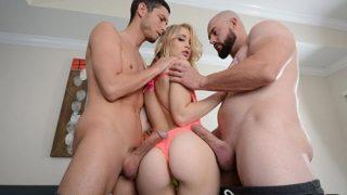 HussiePass – Anastasia Knight – Anastasia Takes Two cocks