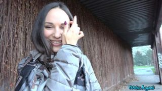 Publicagent – Lilu Moon (Russian backseat fuck and blowjob)