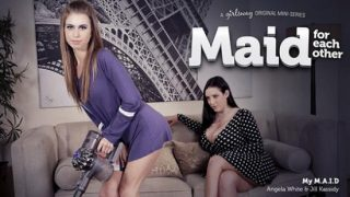 GirlsWay – Angela White – Jill Kassidy – My M A I D D
