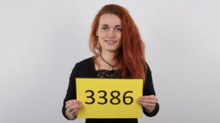 Czech Casting 3386 Katka Redhead