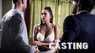 Hot brunette Abigail Mac (The Casting)
