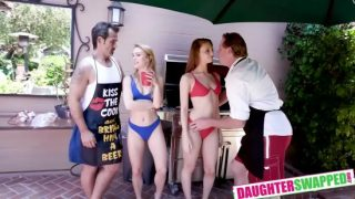 Daughter Swap: Summer Swap And Smash – Jaycee Starr & Nathalie Knight