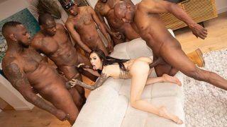 JulesJordan – Hot Interracial Gangbang