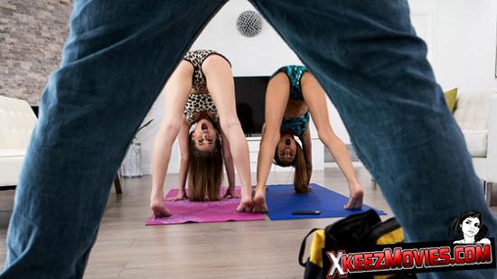 HD Porn – Jill Kassidy – Hime Marie – Tandem yoga routine