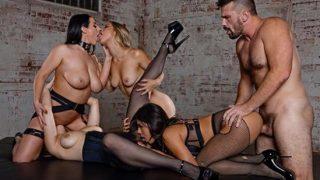 Deeper Angela White, Lena Paul, Alina Lopez, Autumn Falls (Bargaining)