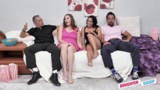DaughterSwap : Cinephile Cum Swapping
