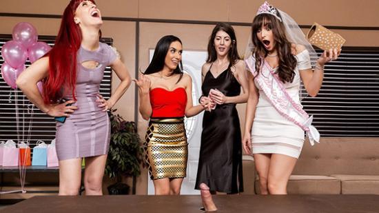 (BrazzersExxtra) – Tia Cyrus – Lexi Luna (The Gift Of Cock) – HD