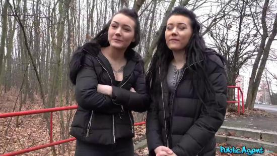 PublicAgentFree – Twins Lady Zee and Sandra Zee – Sexual Double Vision
